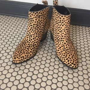 Sole Society Cheetah Bootie